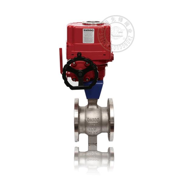VQ947 電動V型半偏心球閥