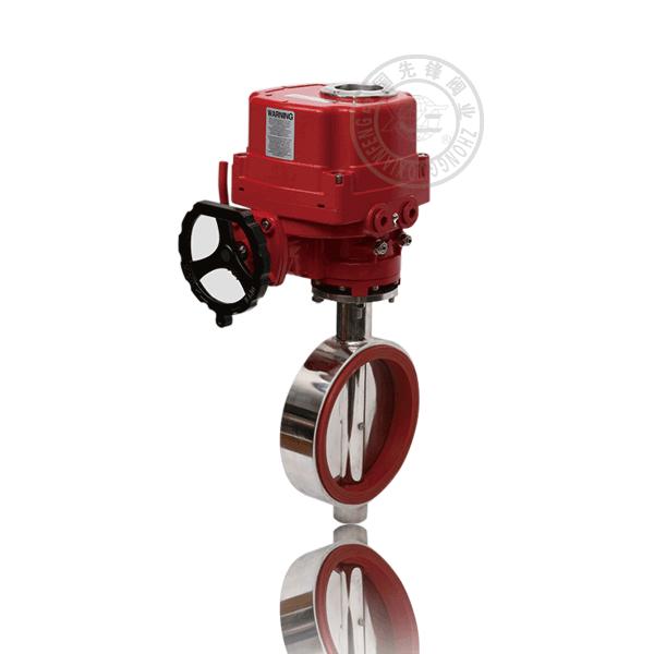 D971X-16P不銹鋼衛生級電動對夾蝶閥